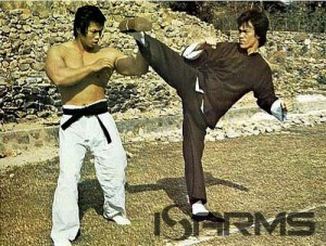 Bolo Yeung & Bruce Lee