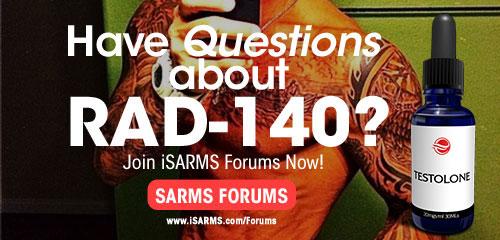 RAD140 - iSARMS com